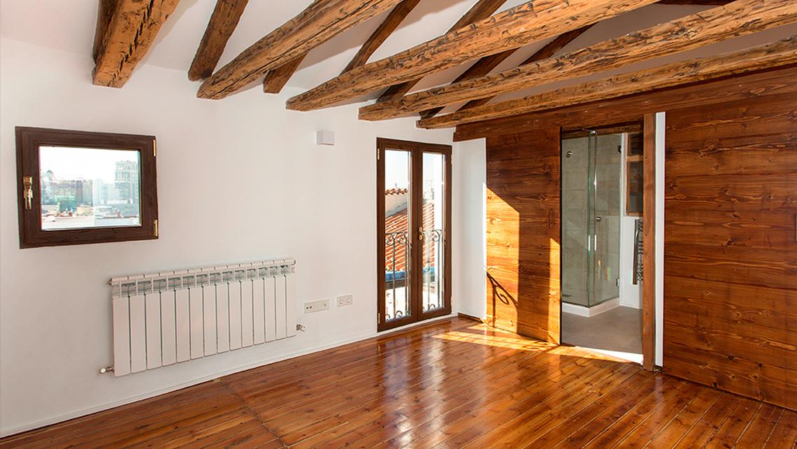 Reformas de viviendas buhardilla con terraza
