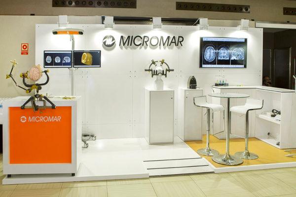 diseño personalizado stand