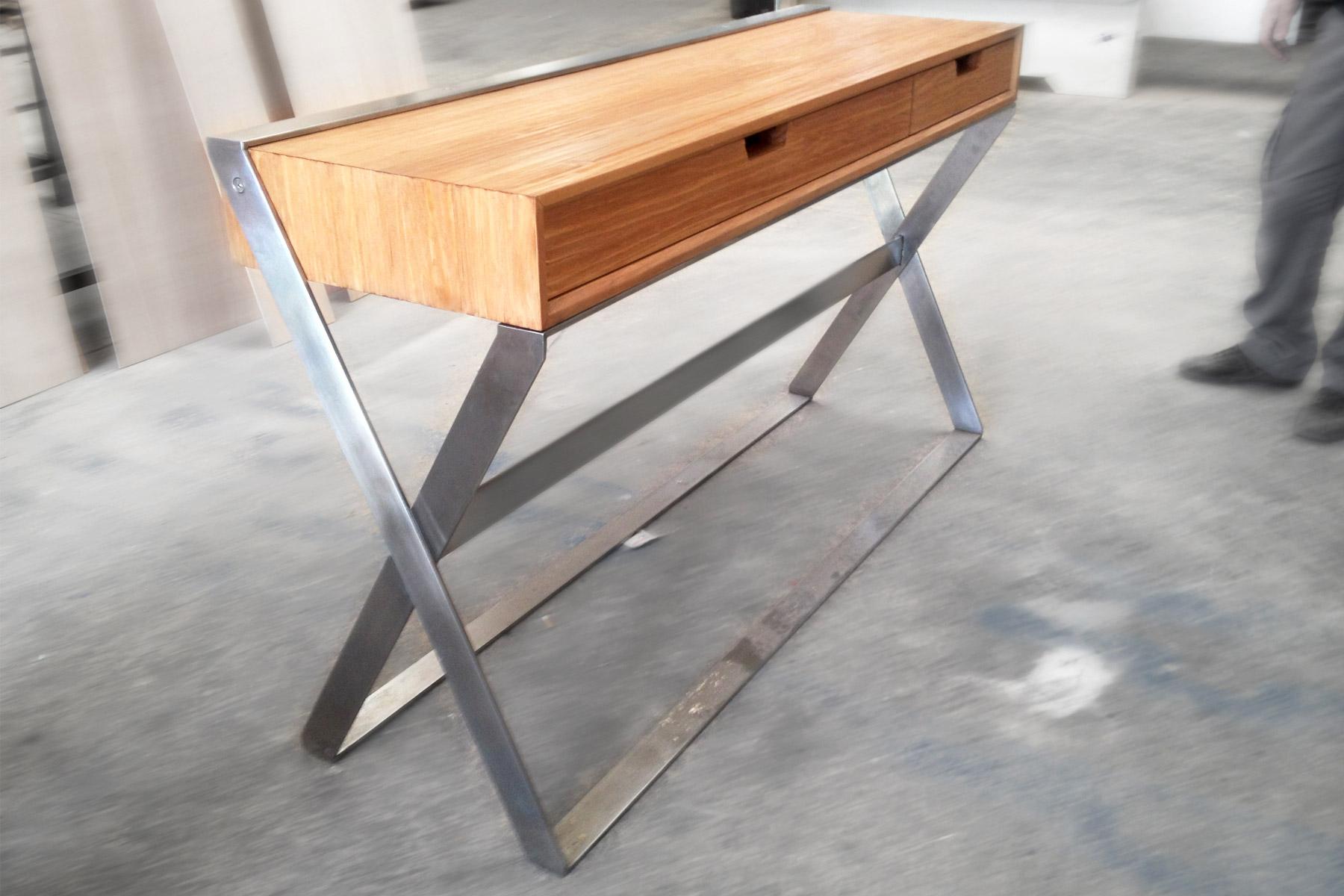 Muebles, diseño, único, muebles, mesa, café, mesa, centro, mesa, loft