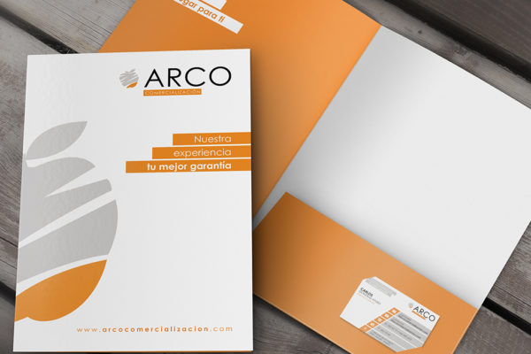Diseño carpeta genérica | Arco