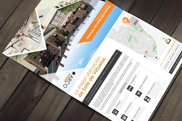 Diseño papelería comercial | Carpeta Arco