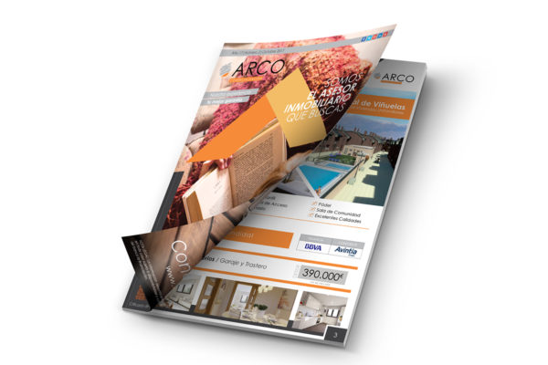 Diseño gráfico y maquetación | Revista Arco