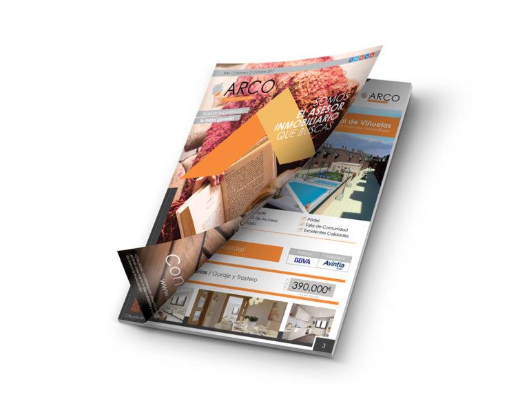 Diseño y maquetación | Revista Arco