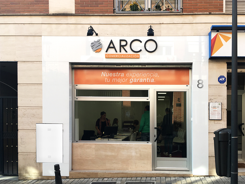 Reforma fachada local comercial