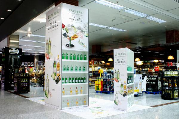 GinTonic Festival | Espacio promocional en Supermercado